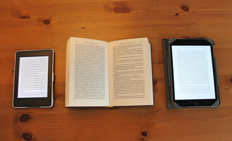 Test: Besser lesen – mit Buch, iPad oder eReader?