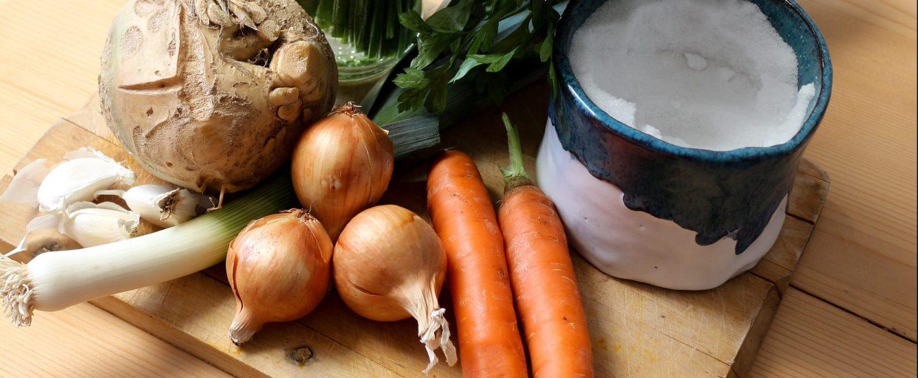 Müllfreier Mittwoch: Gemüsebrühe selbstgemacht