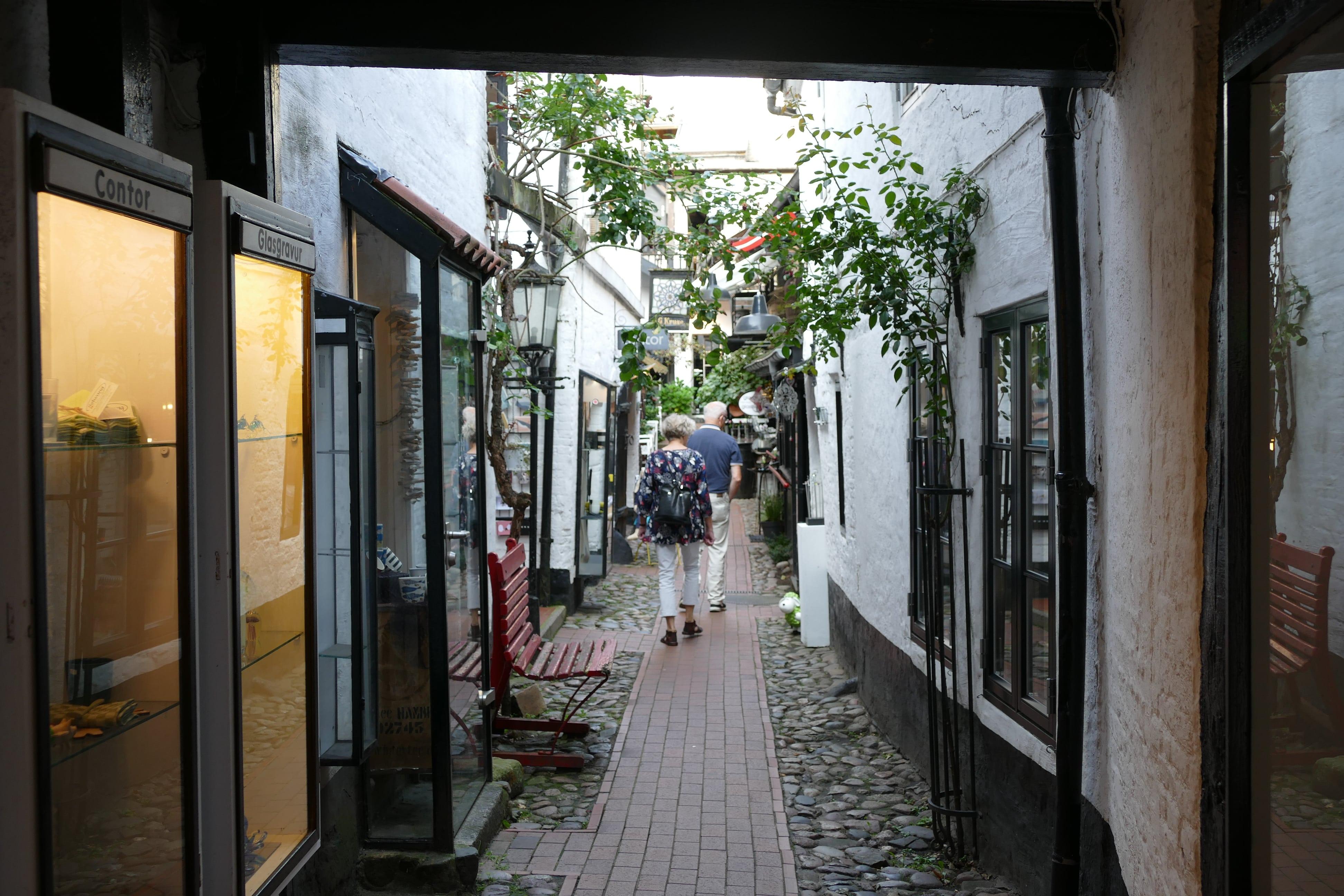 Hinterhof in der Roten Straße
