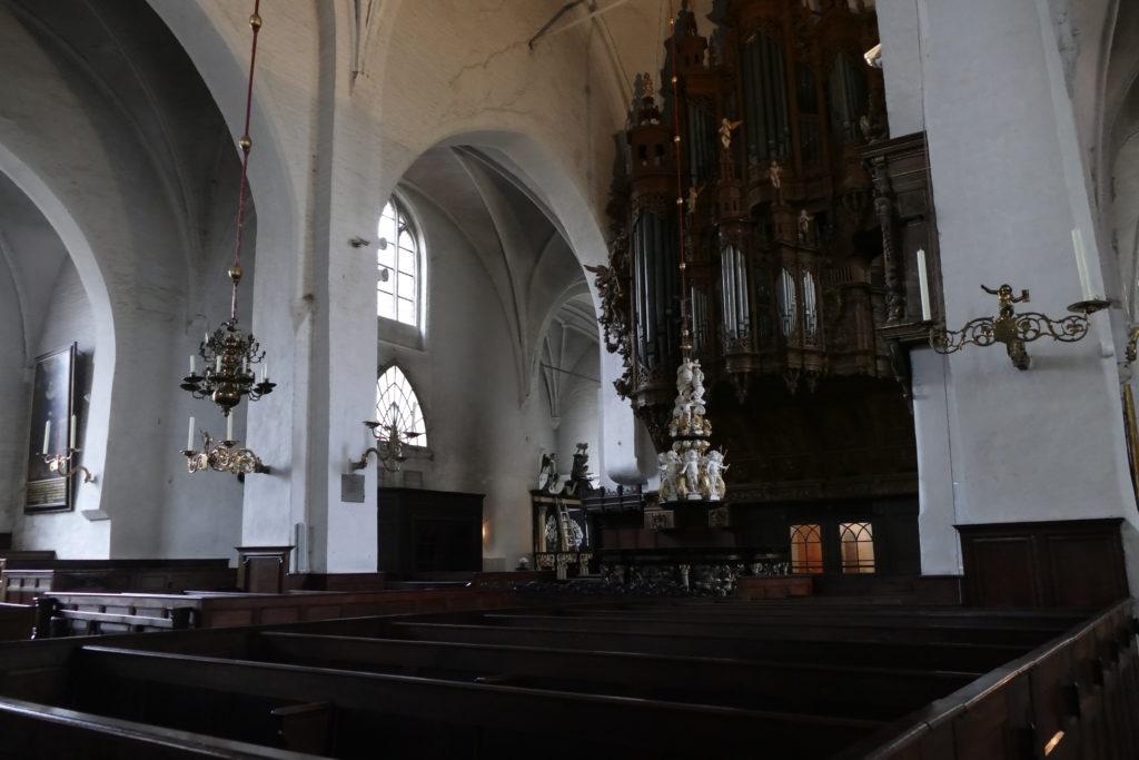 Kirchenschiff von Aegidien