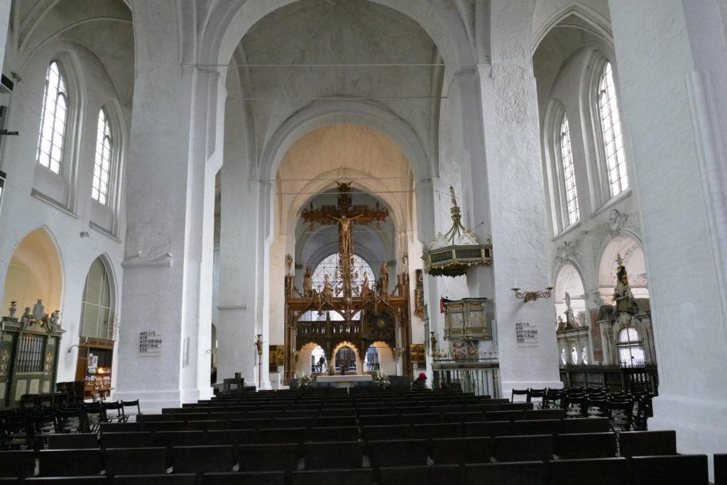Kirchenschiff des Dom zu Lübeck
