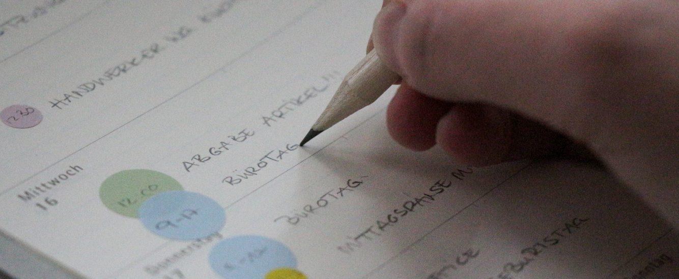Kalender organisieren – 2019 wird übersichtlicher!