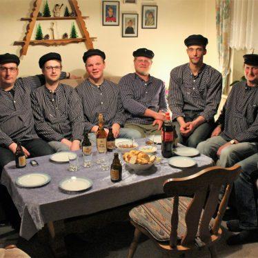 Die nordfriesische Antwort auf die Backstreet Boys: Die Stedesander Seevagabunden