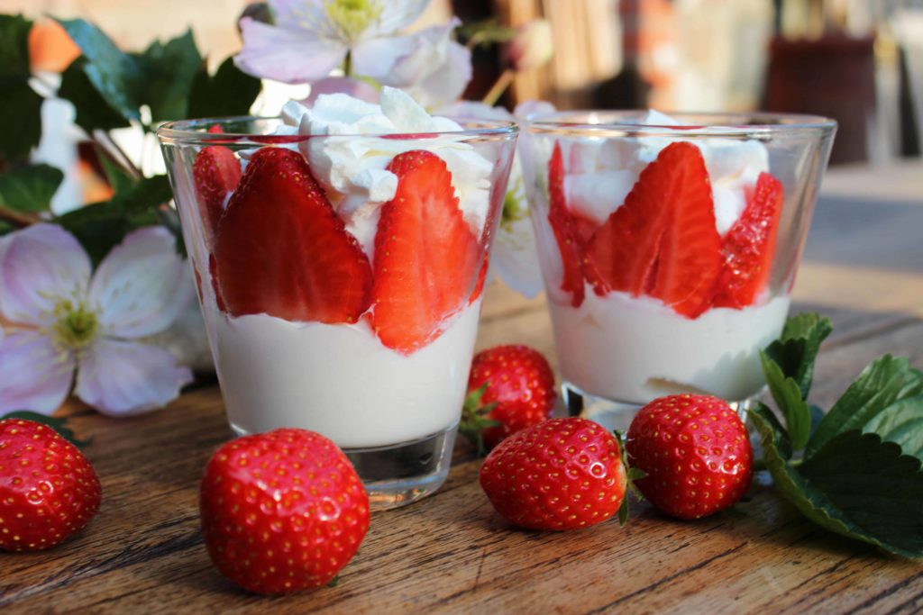 Erdbeer Dessert