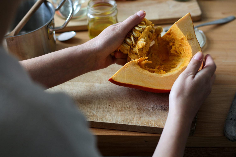 Das beste am Herbst: Kürbisbrot, frisch aus dem Ofen