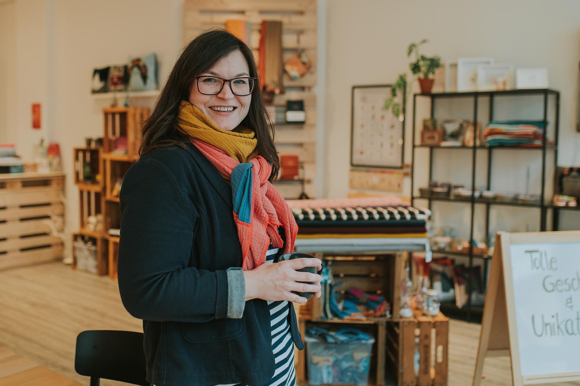Daniela Frackmann von der MachBar in Bad Oldesloe