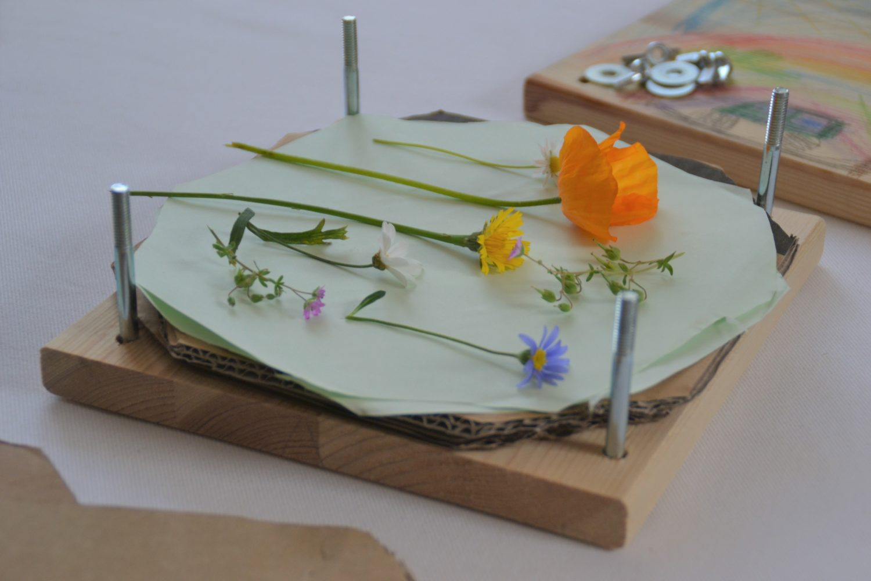 Sommertrend: Blumen pressen