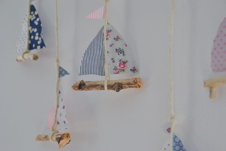 Sommerlich und maritim – Wanddeko aus Treibholz