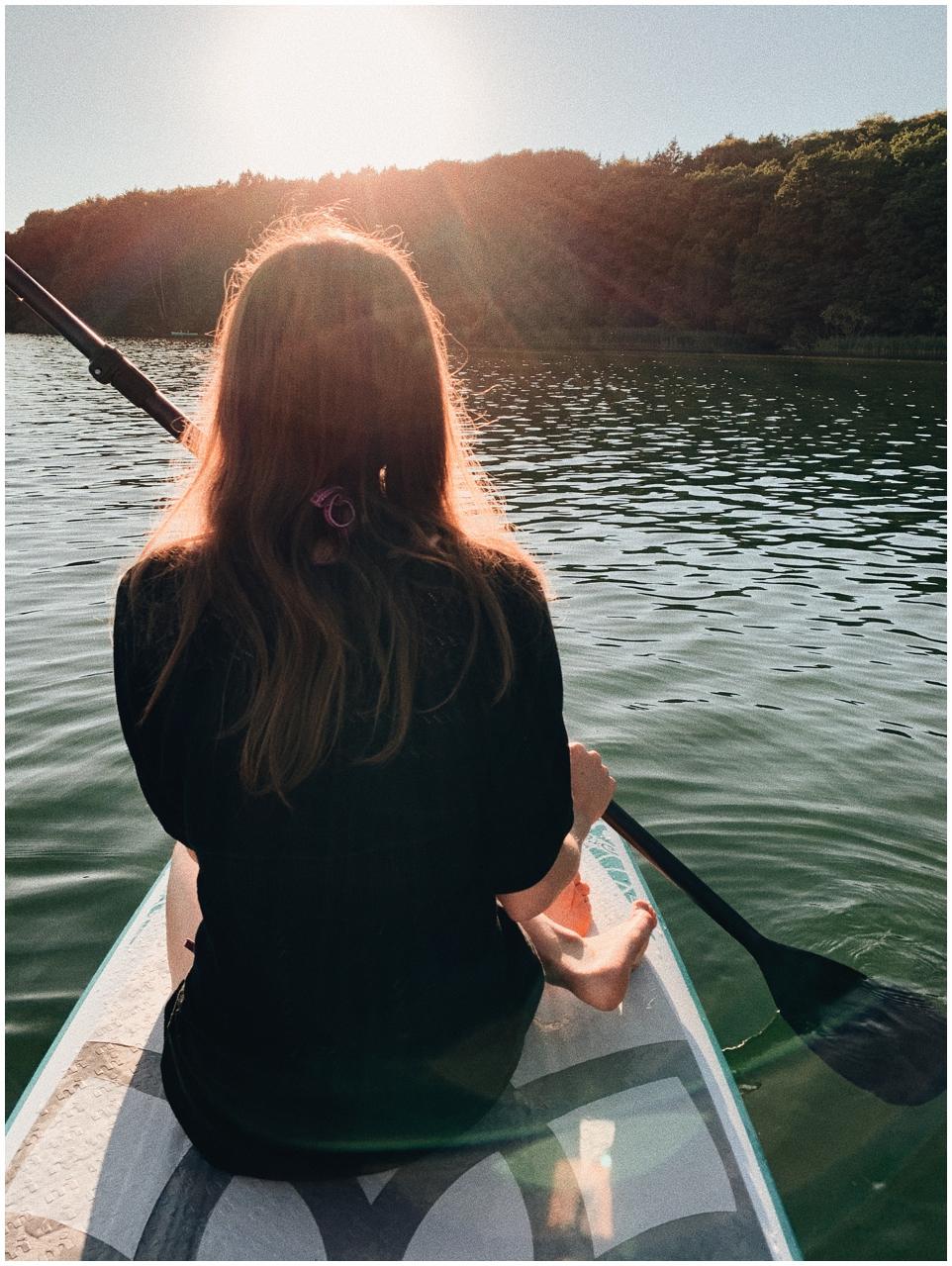 SUP - Sommer auf dem Wasser