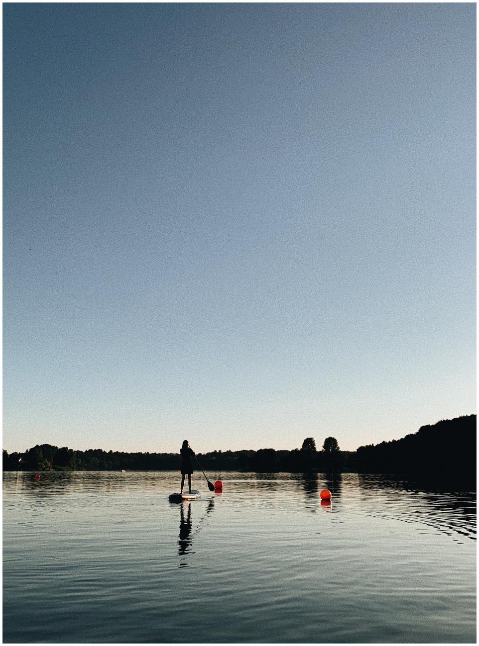 SUP – Sommer auf dem Wasser