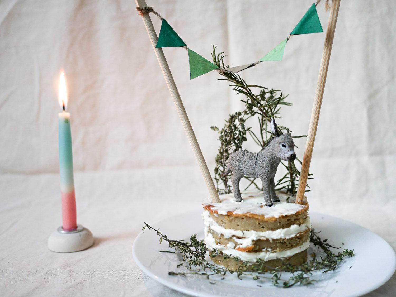 Babys erster Geburtstagskuchen ohne Zucker