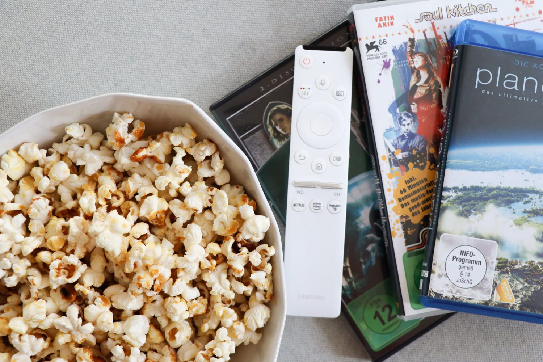 Kinofeeling für Zuhause mit Popcorn & Blockbustern