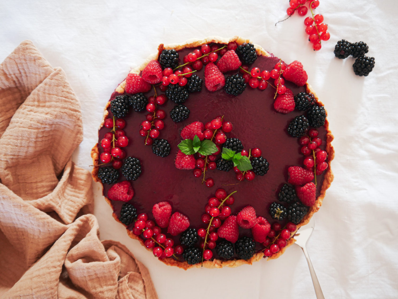 Rezept: Sommerliche Beeren Tarte